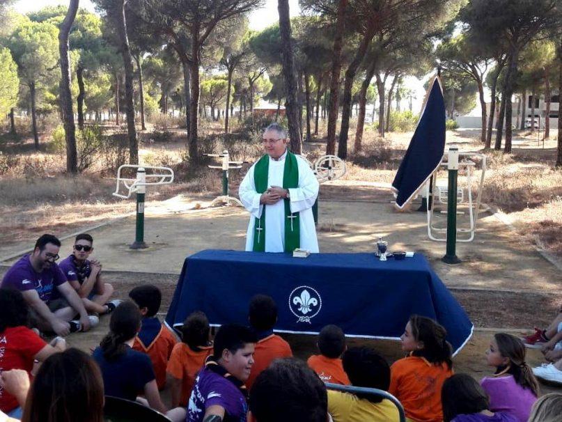 Consiliario De Los Scouts Católicos Padua En Bellavista Aljaraque