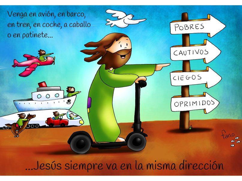 3º Domingo Tiempo Ordinario Jesús Siempre En La Misma